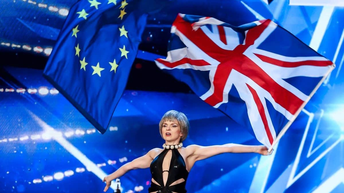 Theresa May impersonator shocks Britain's Got Talent judges with surprise dance routine
