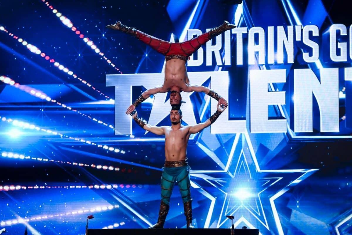 Acrobats Vardanyan Brothers.