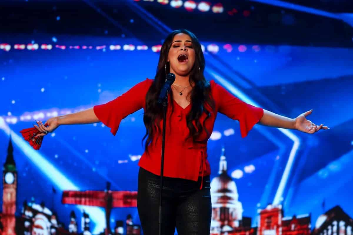 Singer Faith Tucker.