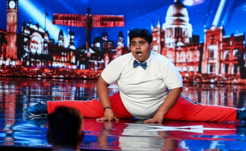 Dancer Akshat Singh (Ant and Dec's golden buzzer)