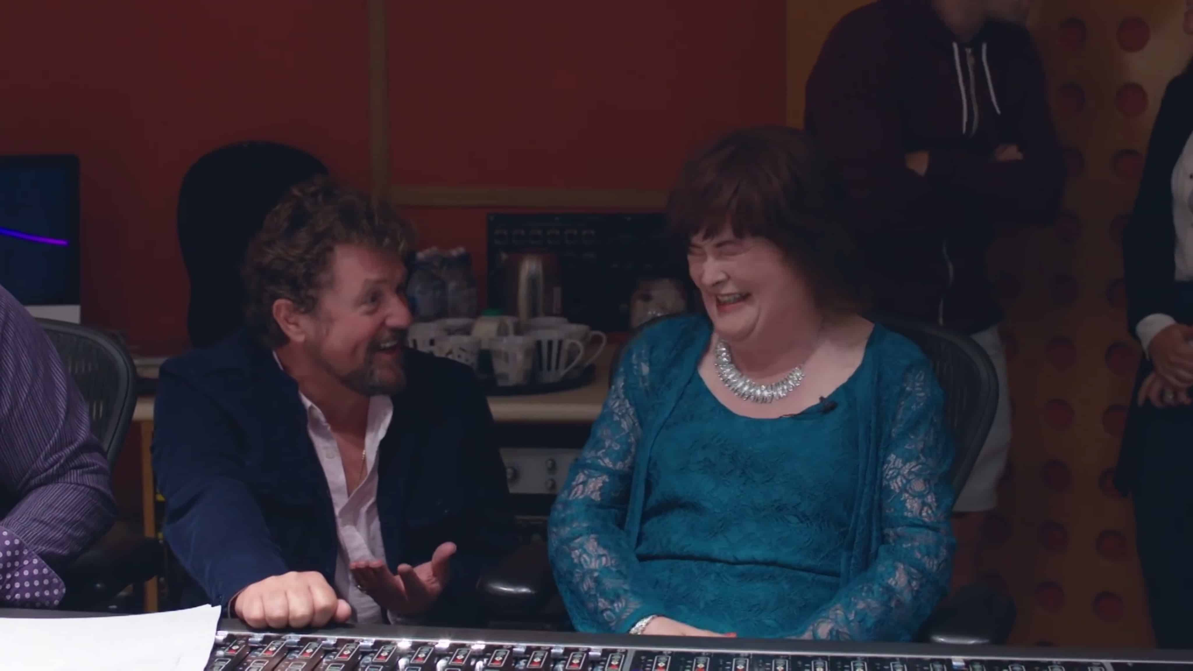 Watch Susan Boyle and Michael Ball duet on 'A Million Dreams' from her new album