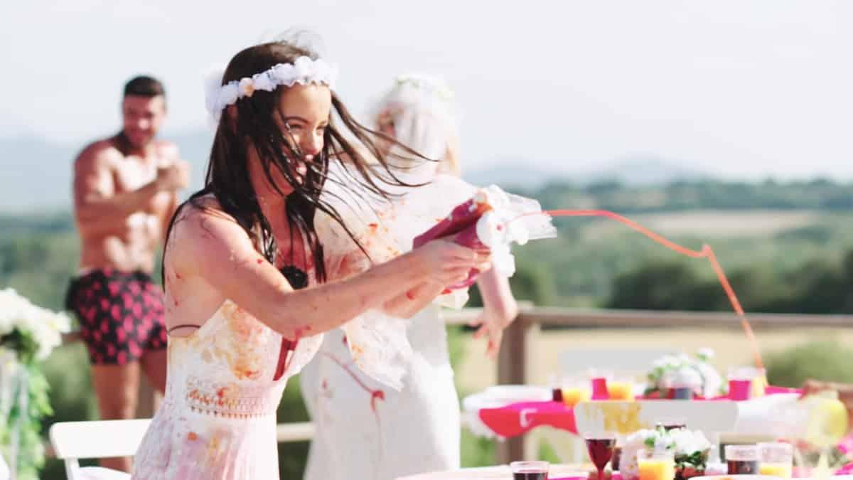 The Bridezillas challenge.