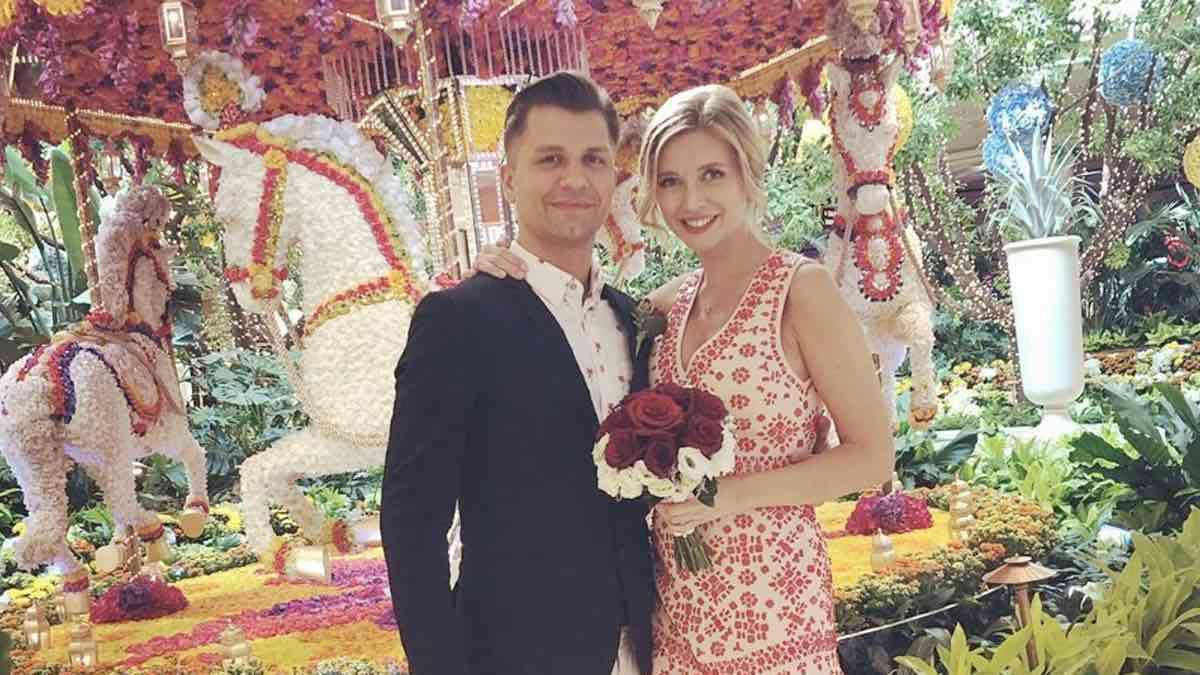 Rachel Riley and Pasha Kovalev get married 'in secret Vegas ceremony'