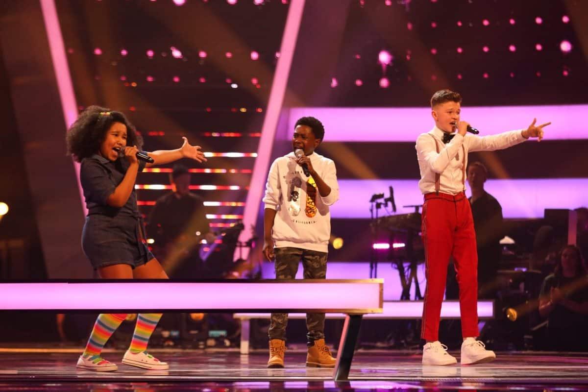 Rosa, Raphael and The Mack Man perform.