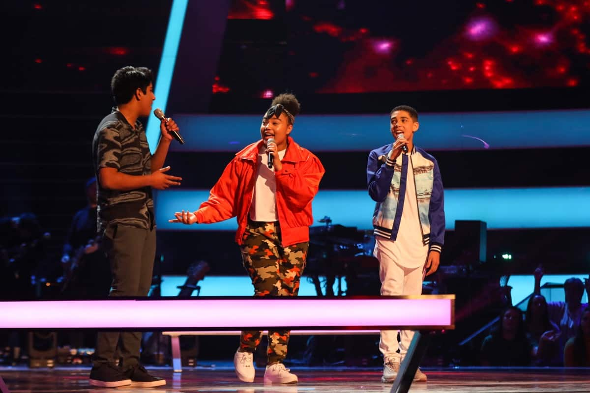 PICTURES! See Tonight's Latest The Voice Kids 2019 Battle