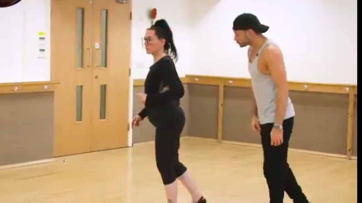 Watch Michelle Visage in Strictly training with Giovanni Pernice