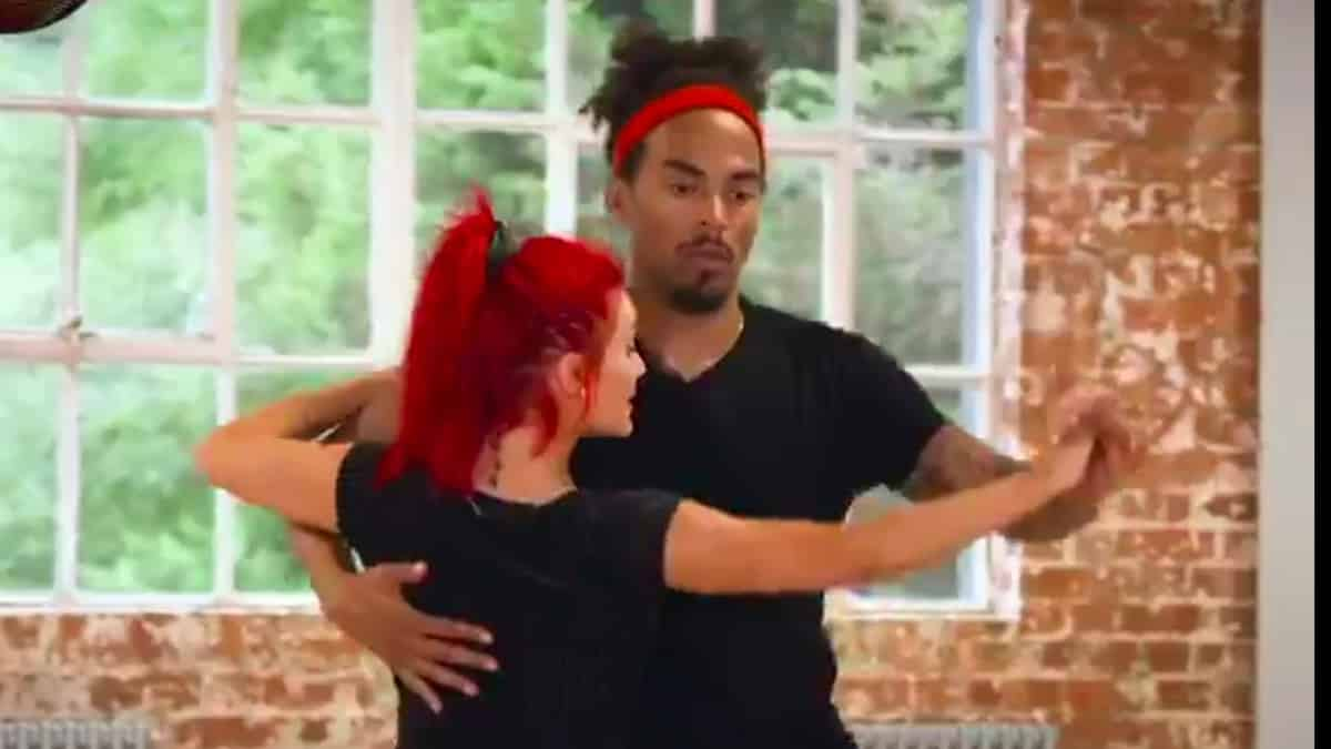 Watch Dev Griffin and Dianne Buswell's first steps on Strictly Come Dancing