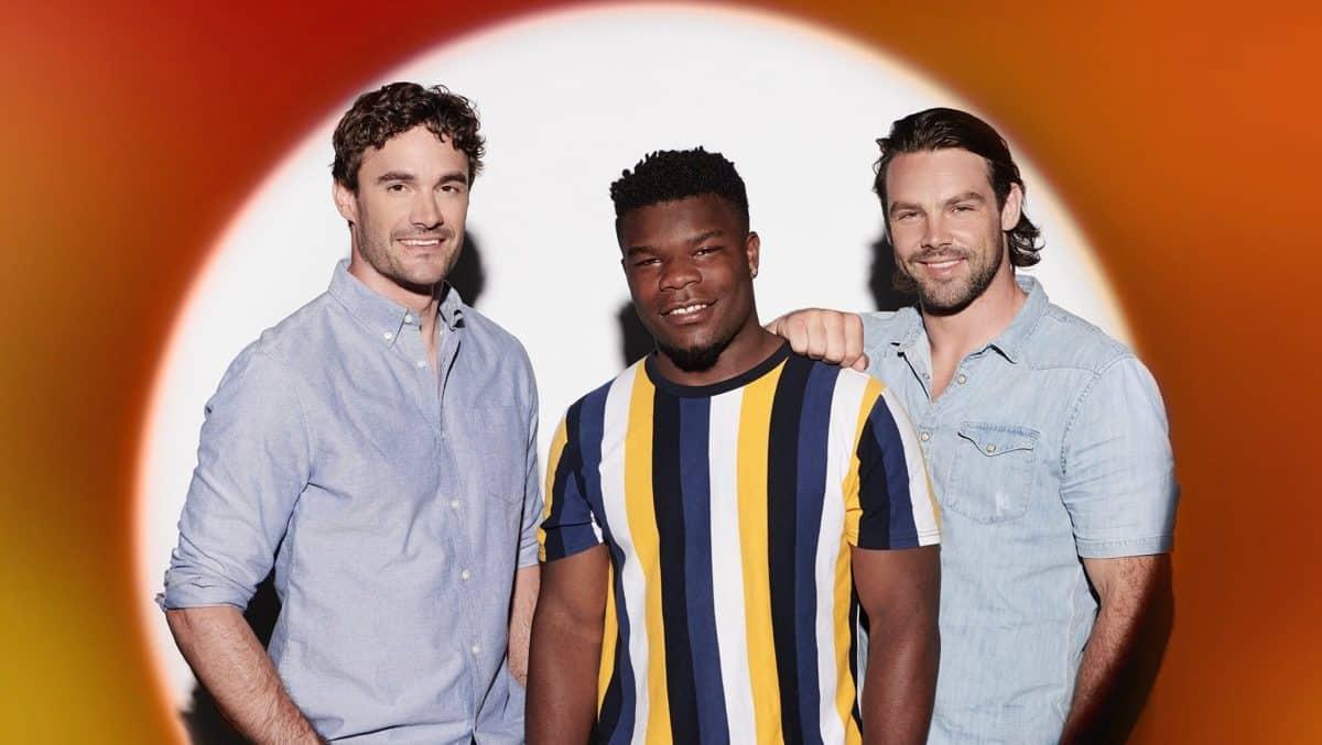 Try Star [Rugby star Thom Evans, Levi Davis, Ben Foden].