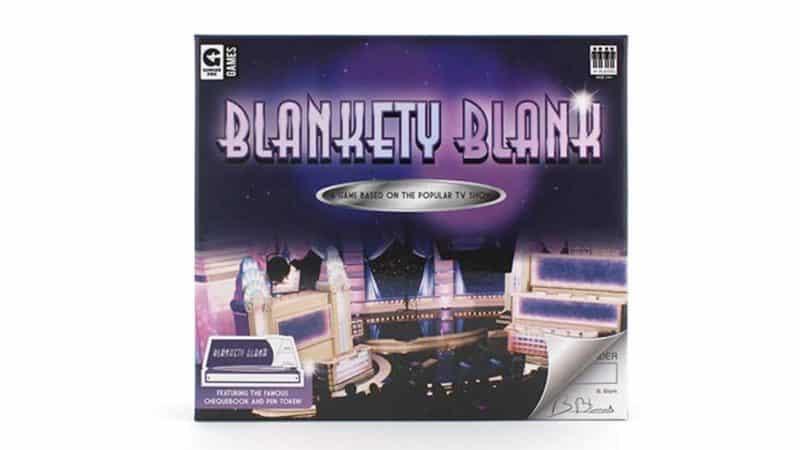 Blankety Blank Card Game