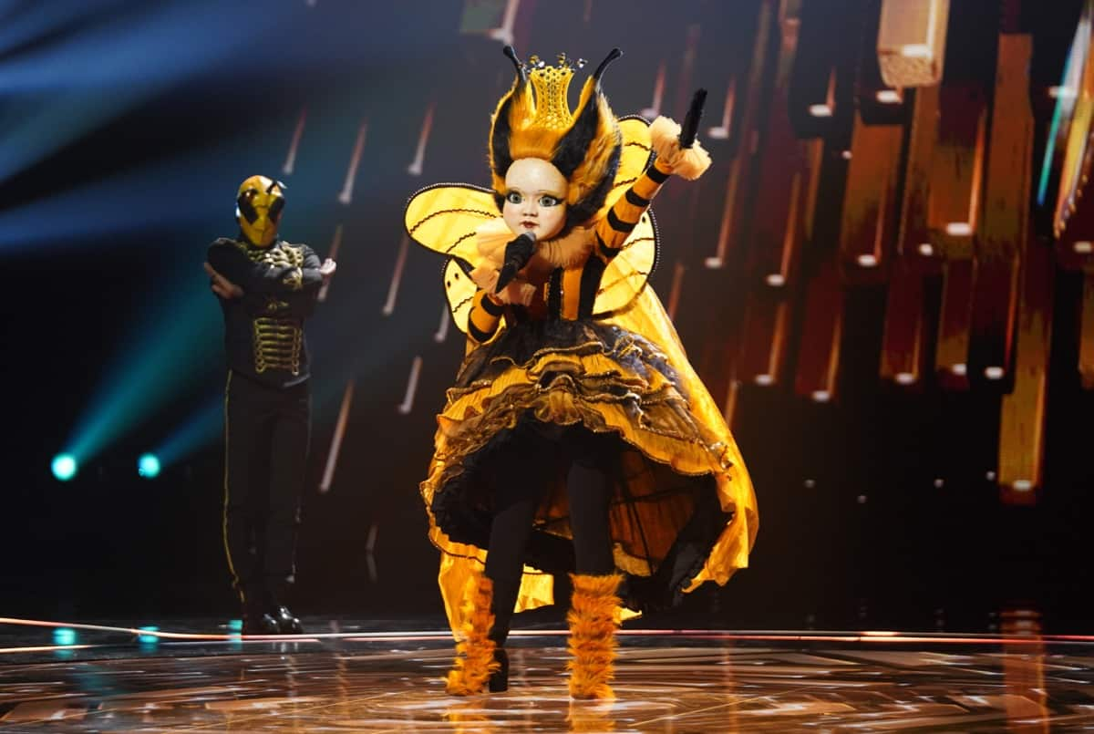Image result for queen bee masked singer